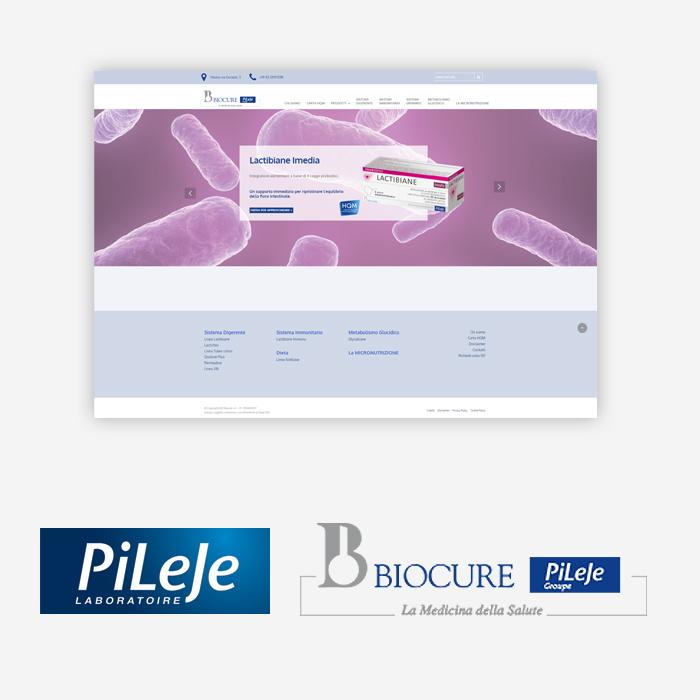 Verrai reindirizzato al sito di Biocure.it, la filiale del Gruppo PiLeJe in Italia.